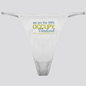 Occupy Vineland Classic Thong