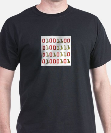 Binary - Love  Black T-Shirt