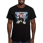 Occupy Houston Men's Fitted T-Shirt (dark)