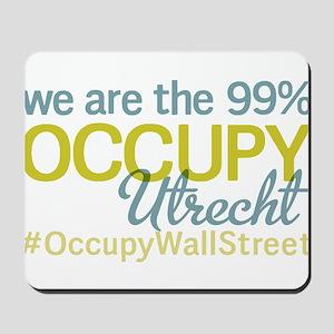 Occupy Utrecht Mousepad