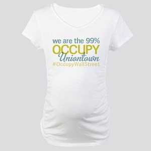 Occupy Uniontown Maternity T-Shirt