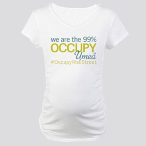 Occupy Umea Maternity T-Shirt