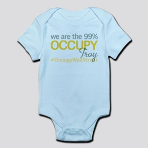 Occupy Troy Infant Bodysuit