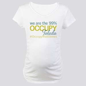 Occupy Toledo Maternity T-Shirt