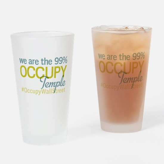 Occupy Temple Drinking Glass