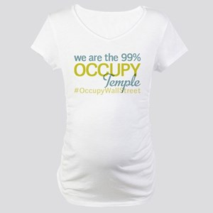 Occupy Temple Maternity T-Shirt