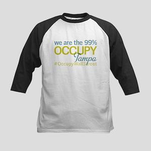 Occupy Tampa Kids Baseball Jersey