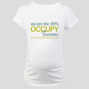 Occupy Tacoma Maternity T-Shirt