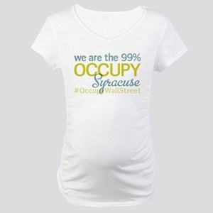 Occupy Syracuse Maternity T-Shirt