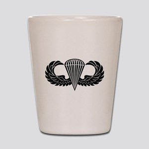 Jump Wings Stencil Shot Glass