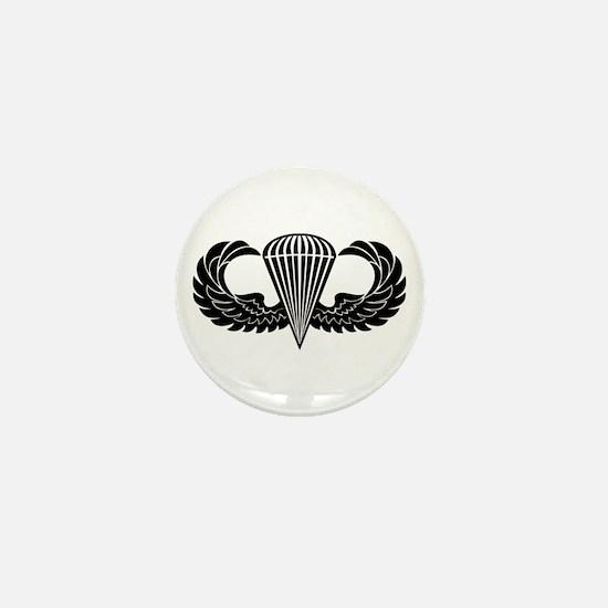 Jump Wings Stencil Mini Button