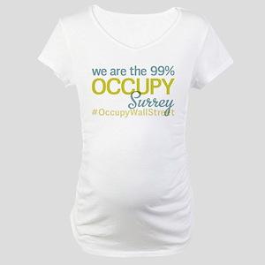 Occupy Surrey Maternity T-Shirt