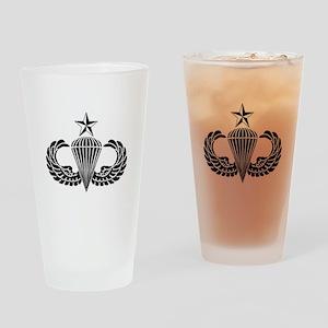 Sr. Parachutist Drinking Glass