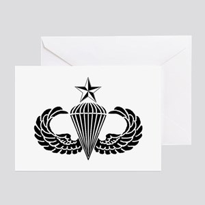 Sr. Parachutist Greeting Cards (Pk of 10)