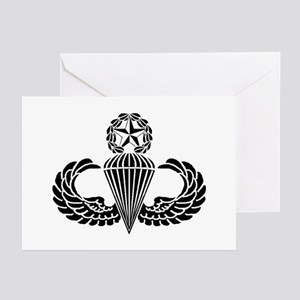 Master Parachutist Greeting Cards (Pk of 10)