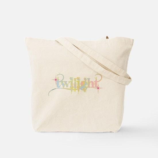 Twilight Pastel Tie-Dye Tote Bag
