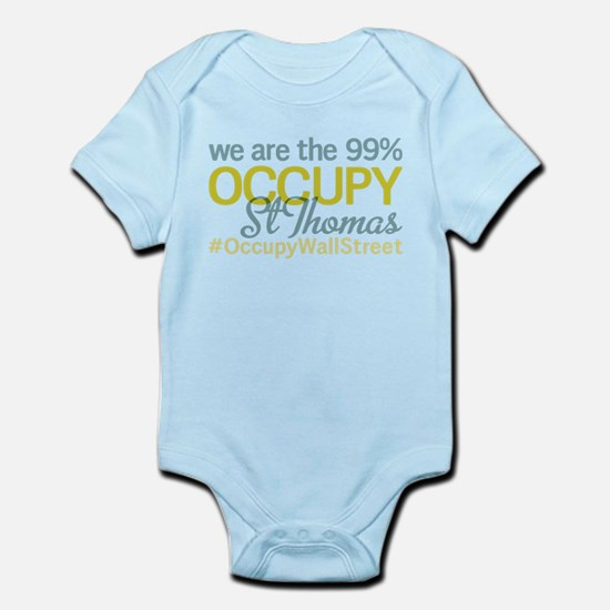 Occupy St Thomas Infant Bodysuit