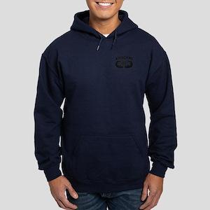Jump Wings Stencil Hoodie (dark) Sweatshirt