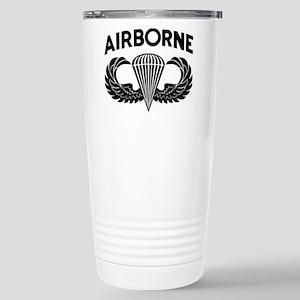 Jump Wings Stencil Stainless Steel Travel Mug Mugs