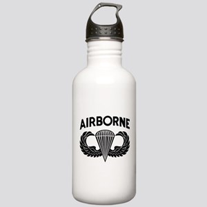 Jump Wings Stencil (2) Stainless Water Bottle 1.0L