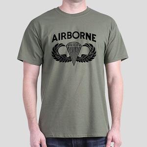 Jump Wings Stencil (2) Dark T-Shirt