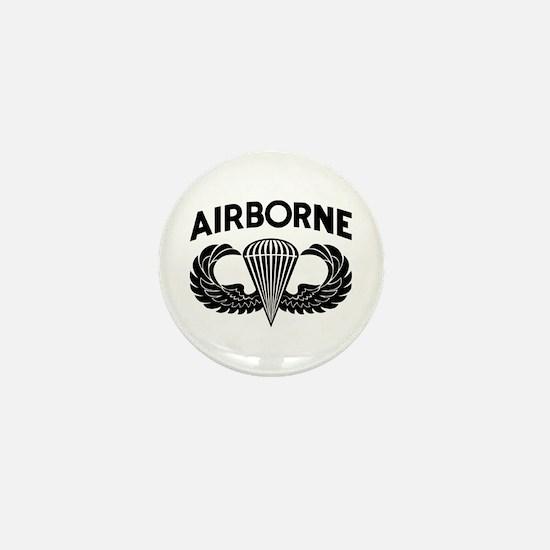 Jump Wings Stencil (2) Mini Button