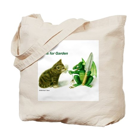 G is for Garden Tote Bag
