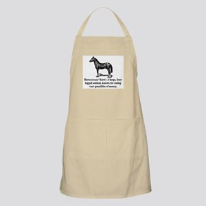 Definition of a Horse Apron