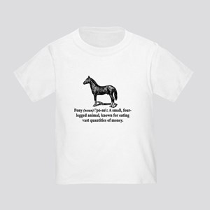 Definition of a Pony Toddler T-Shirt