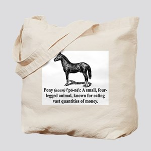 Definition of a Pony Tote Bag