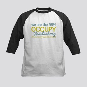 Occupy Spartanburg Kids Baseball Jersey