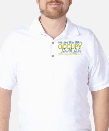 Occupy South Lake Tahoe Golf Shirt