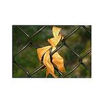 Golden Leaf - Rectangle Magnet