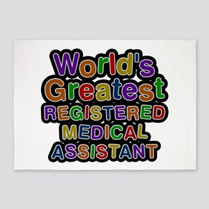 World's Greatest REGISTERED MEDICAL ASSISTANT 5'x7