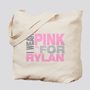 I wear pink for Rylan Tote Bag