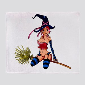Throw Blanket sexy witch