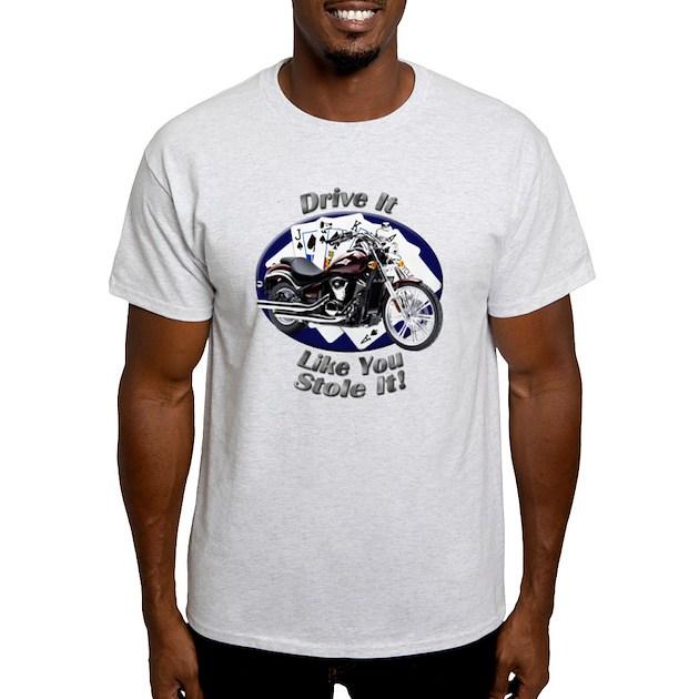 Kawasaki Vulcan 900 Custom T Shirt By Bluestreakdesigns9