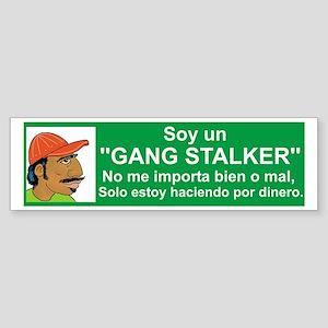 Gang Stalker #1 Sticker (Bumper)
