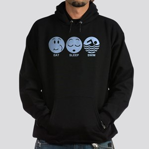 Eat Sleep Swim Hoodie (dark)