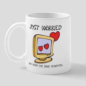 Just Married Geeks Mug