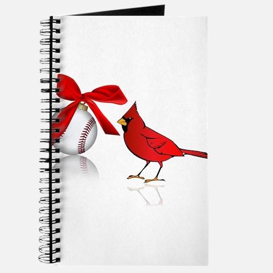 Baseball Christmas Journal