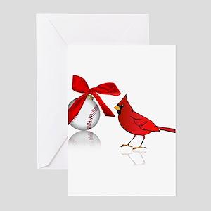 Baseball Christmas Greeting Cards (Pk of 10)