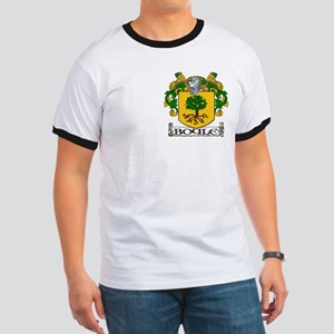 Boyle Coat of Arms Ringer T