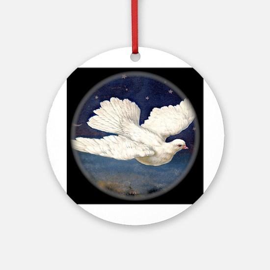 Dove of Peace Ornament (Round)