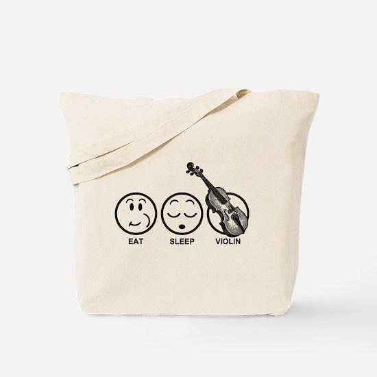 Eat Sleep Violin Tote Bag