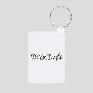WE THE PEOPLE XVII Aluminum Photo Keychain