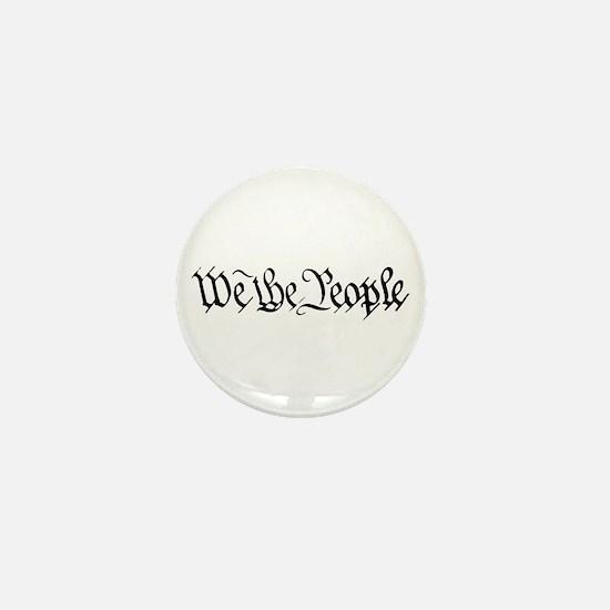 WE THE PEOPLE XVII Mini Button