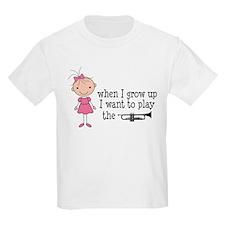 Future Trumpet Player Kids Kids Light T-Shirt
