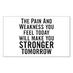 Stronger Tomorrow Sticker (Rectangle)