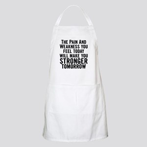 Stronger Tomorrow Apron